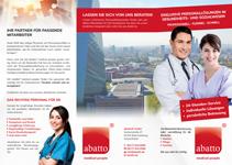Unternehmensbroschüre medical