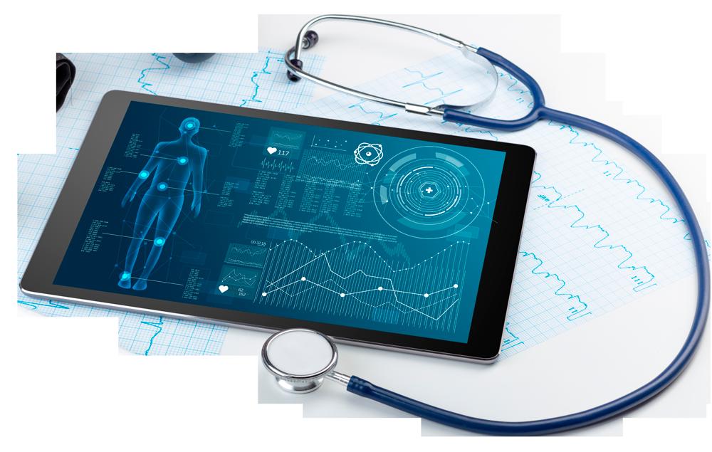 abatto® medical people - Bild von einem Tablet